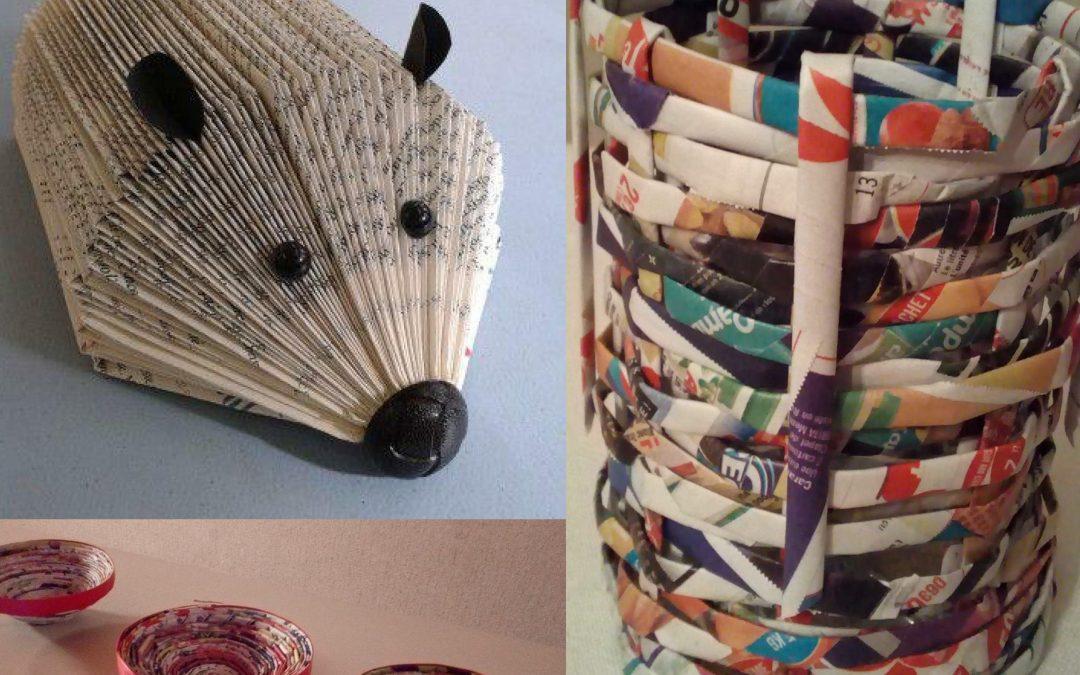 Création d'objets en papier