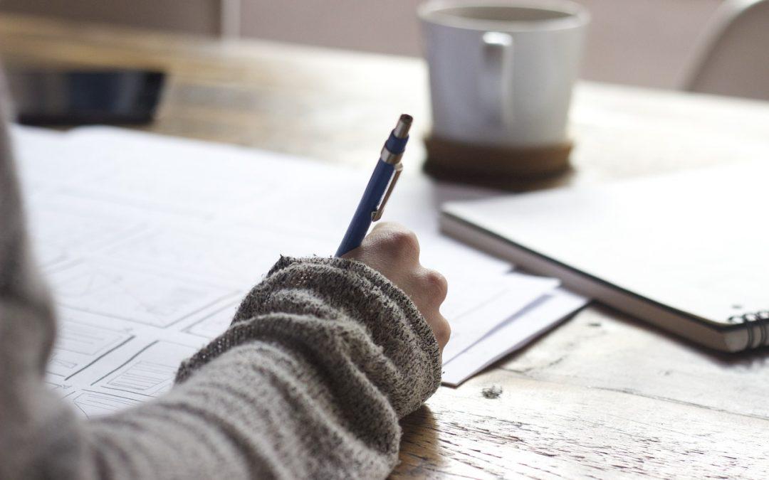 Atelier d'écriture (parenthèse coronatelier)