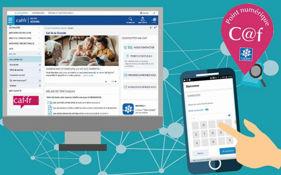 Point de secours & Permanence numérique Caf